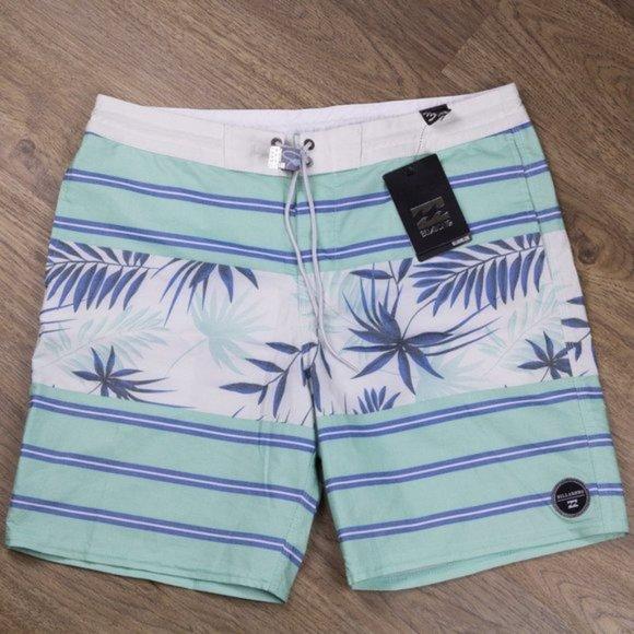 Billabong Men's Boardshorts Size 33 NWT